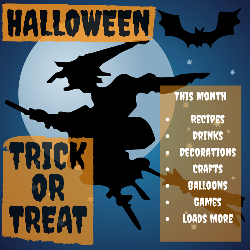 Click Here - For all our Halloween Ideas