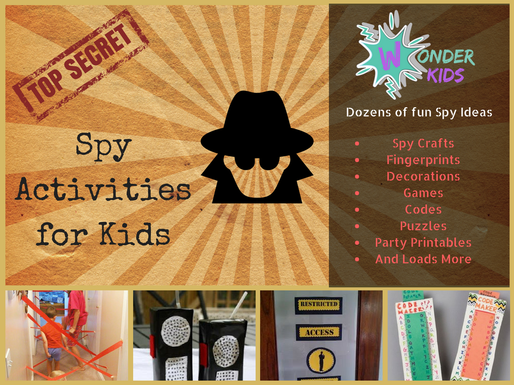 Wonder Kids Spy Party