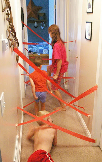 Lazer Maze - Use the search bar at the top of the page to find more great ideas like this.