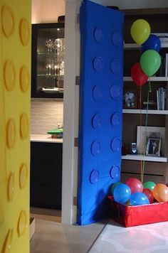 Great lego party decorations