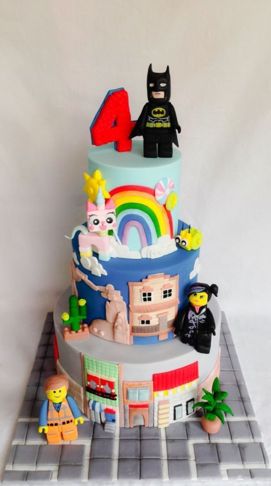 Lego movie Cake Inspiration