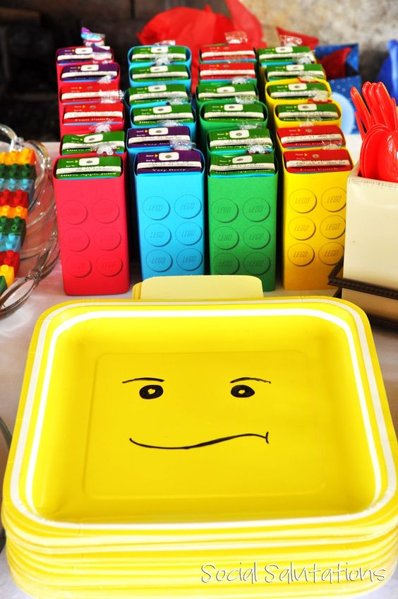 Love the Lego Plates (Sharpie Face)