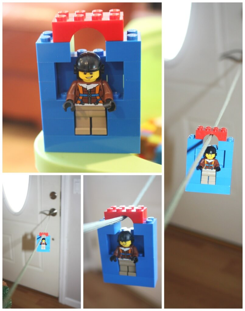 Lego Zip Line Wonder Kids