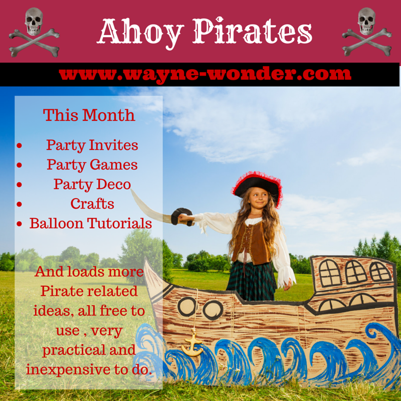 Pirates - Pin the eyepatch on the PiratePirate photo backdropCaptain hook's ring tossCannonballPirate Treasure Hunt