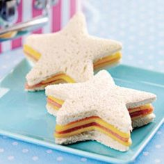 Star Sandwiches from Wonder kids