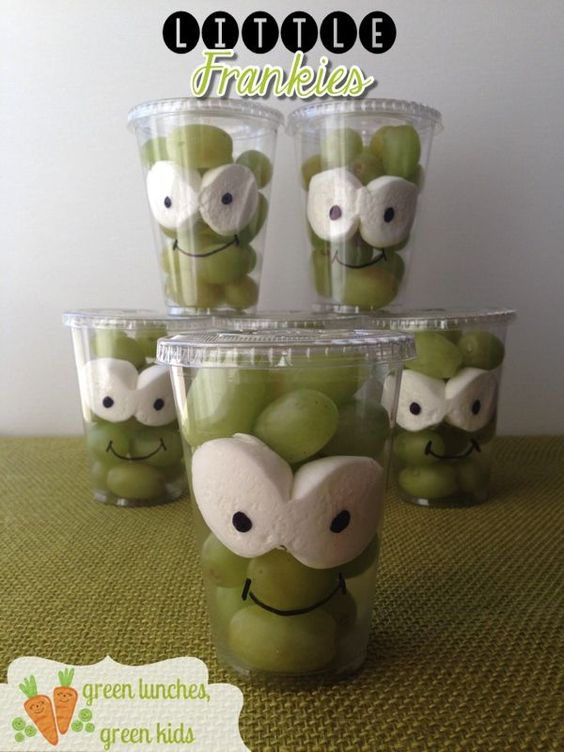 Alien fruit cups from Wonder Kids