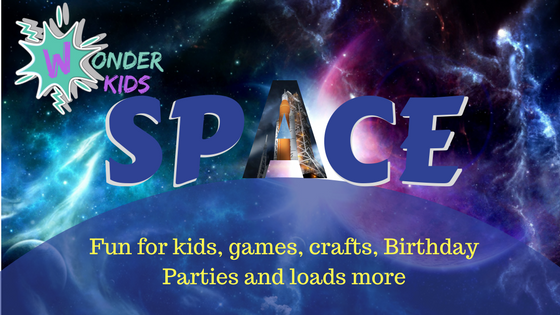Space crafts and activities from Wonder Kids