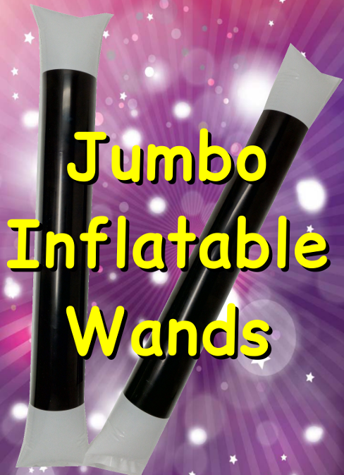 Jumbo Inflatable Wands only £2.00 each -
