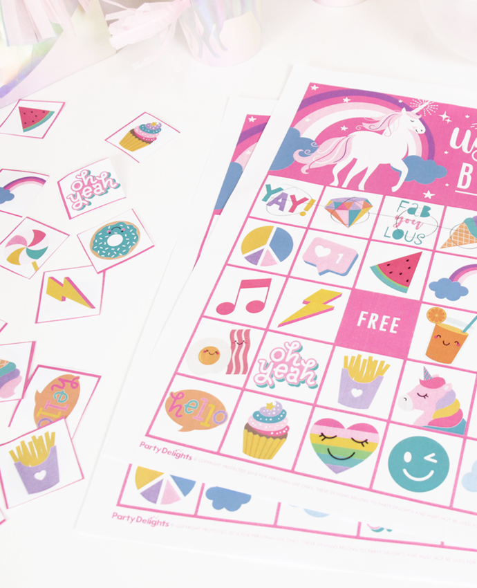 Unicorn Bingo from Wonder Kids