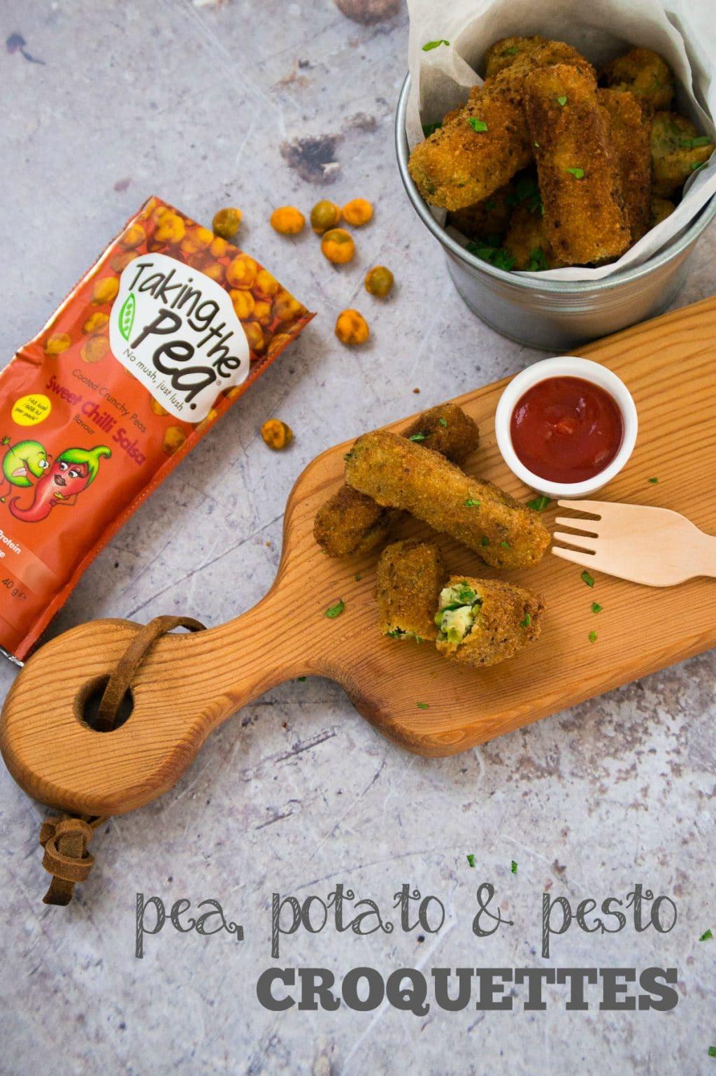 Pea & Potato Croquettes
