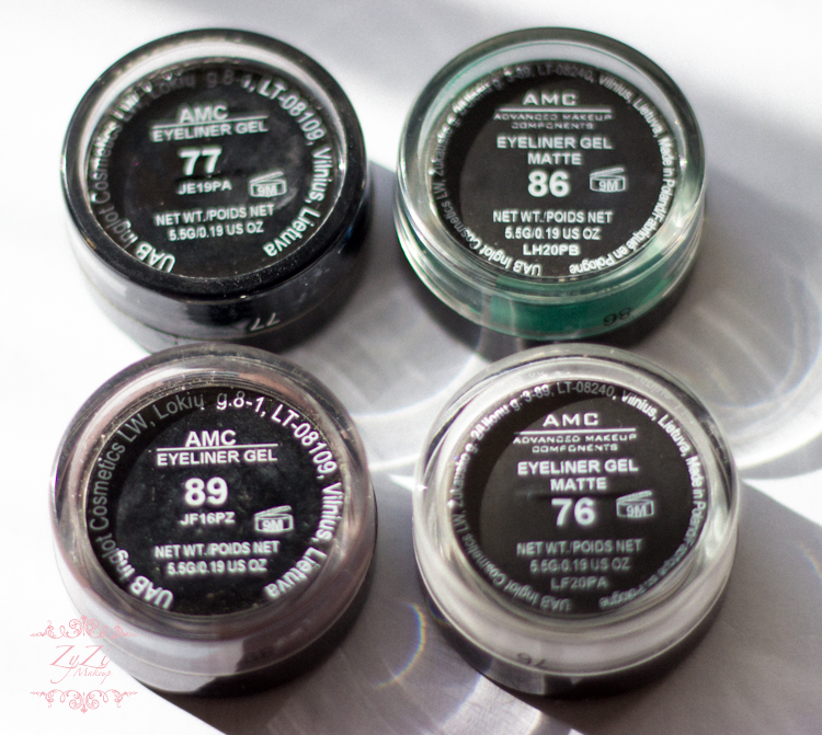 zyzi makeup inglot gel liner blog review  (1 of 1)