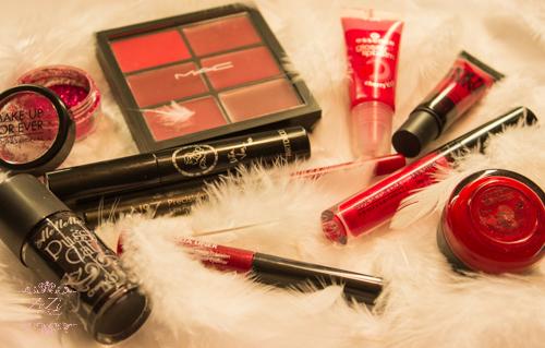 valentines day makeup selection red colour zyzi artist london lietuve vizaziste.jpg