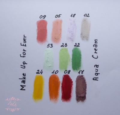 make up for ever mufe aqua cream review swatches 08 24 09 05 18 02 53 23 22 10 17 red, yellow green mint cream eyeshadow waterproof.jpg
