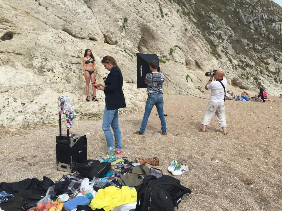 Stunning location but a big mess behind the scenes!