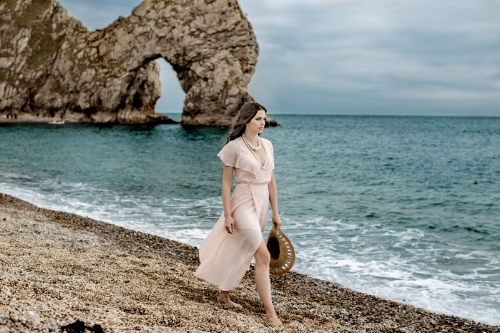 Zydre Zi Kamal Mostofi durdle door fashion editorial photoshoot beach (11).jpg