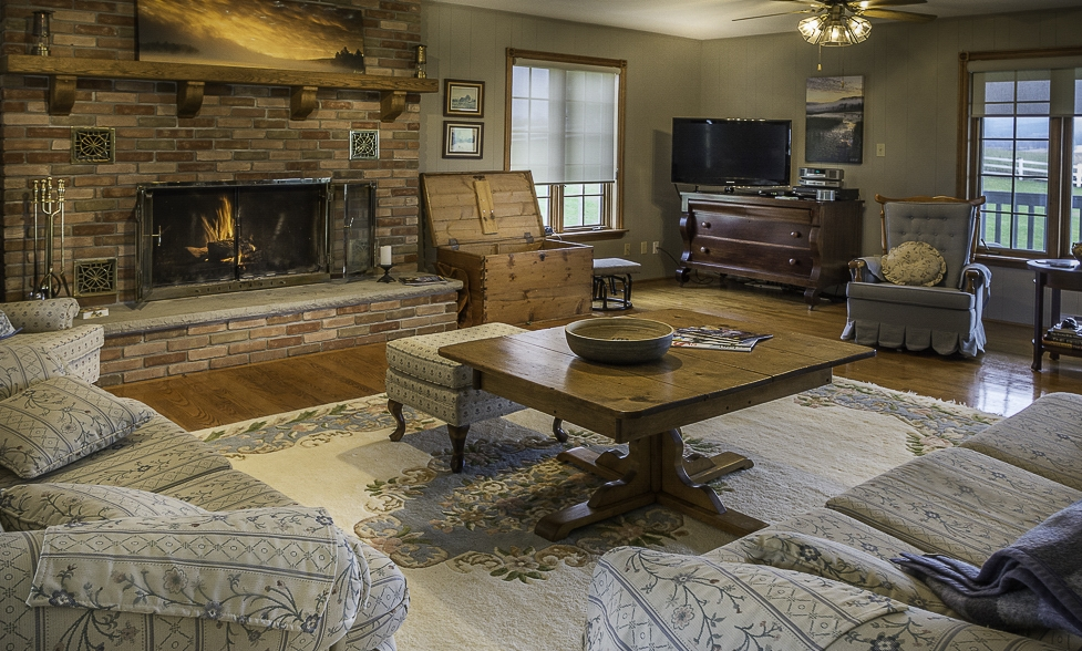 Hike, cycle, ski the surrounding trails followed by a snuggle by the fireplace and glass of Creemore Springs
