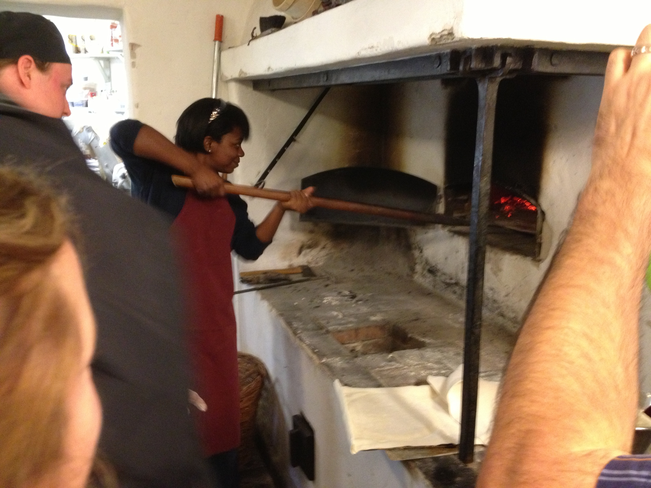 Making flatbread at Gunnebo Castle - Gothenburg, Sweden