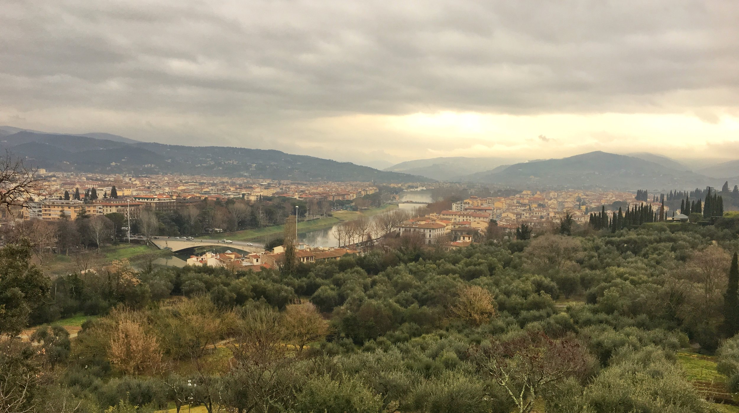 The View Above Florence