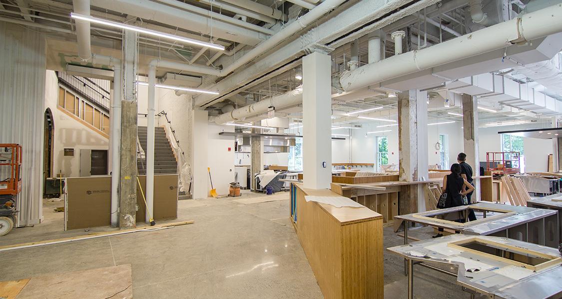 Construction Progress At Vassar College Ltl Architects