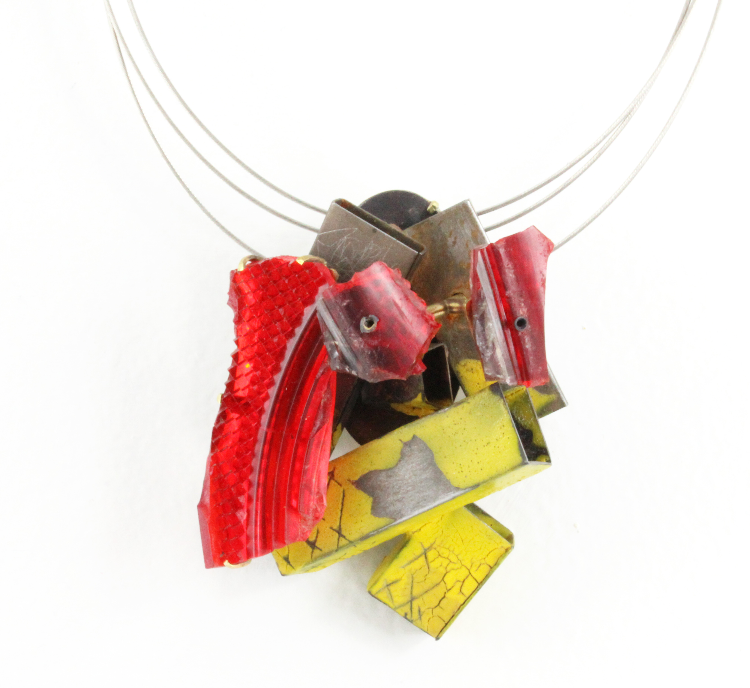 Yellow Flasher Pendant