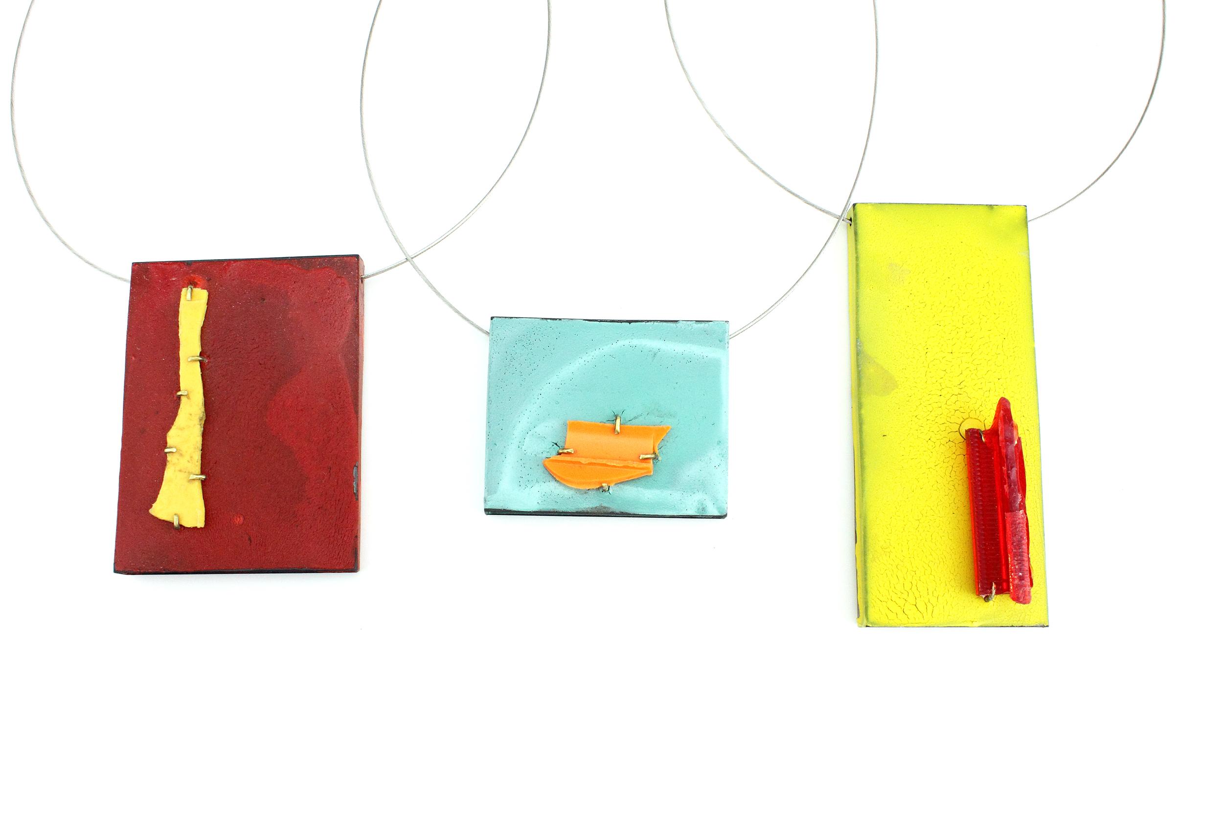 Color Field Pendants