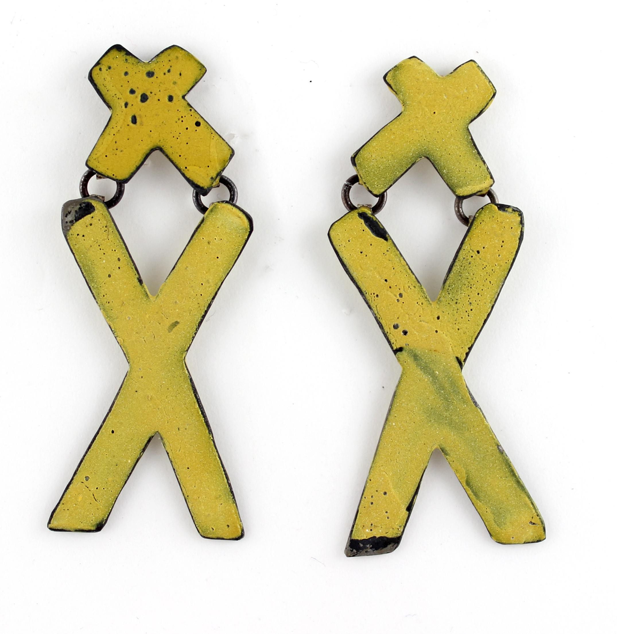 X Marks Earrings
