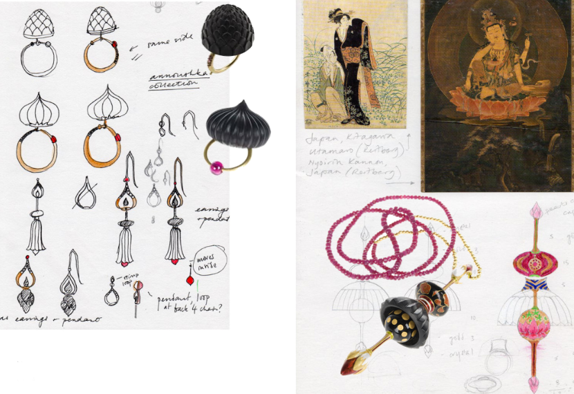 Alice Cicolini,  Drawing Jewels for Fashion  by Carol Woolton