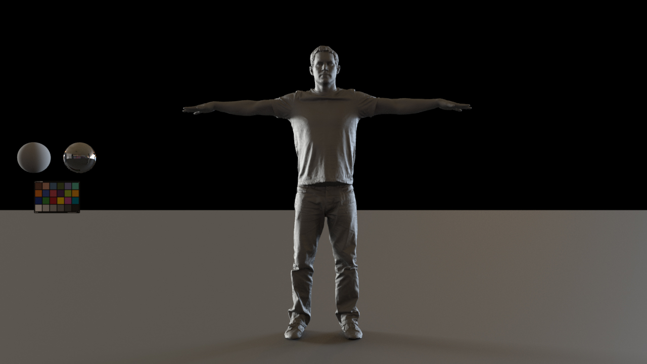 Calibrated light-rig for arnold