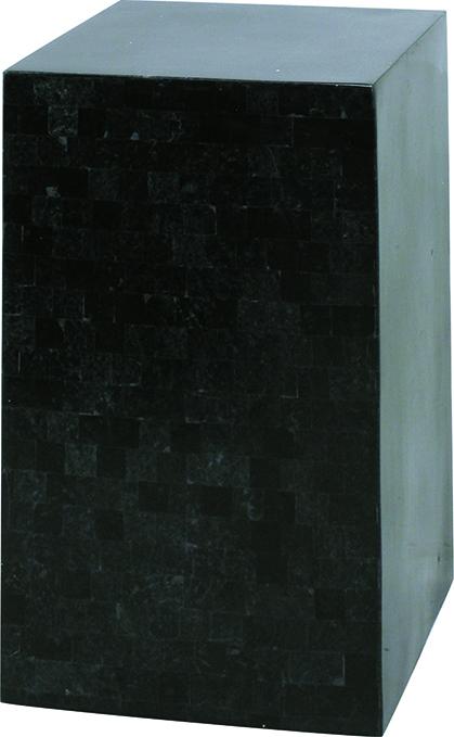 Geo podium - black polished