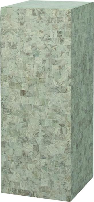 Geo podium - cappuccino marble