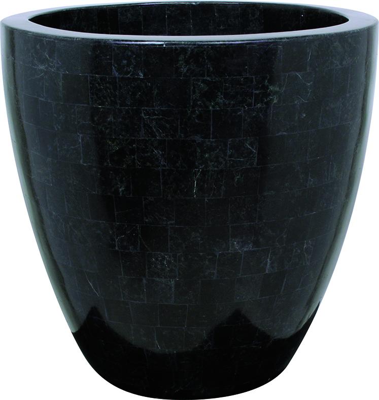 Geo crown - black polished