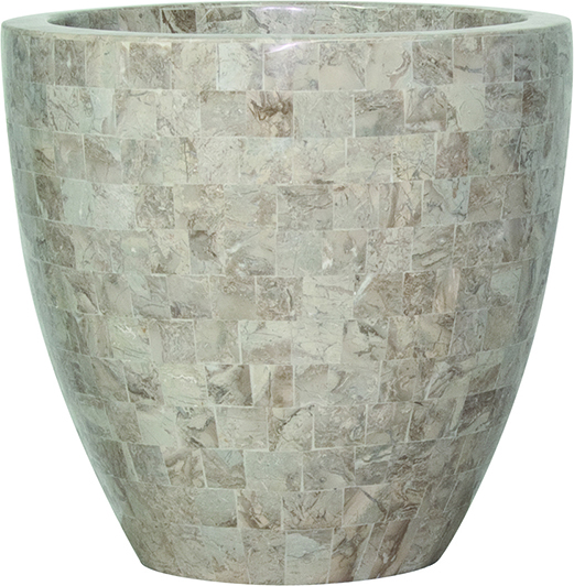 Geo cup - cappuccino marble