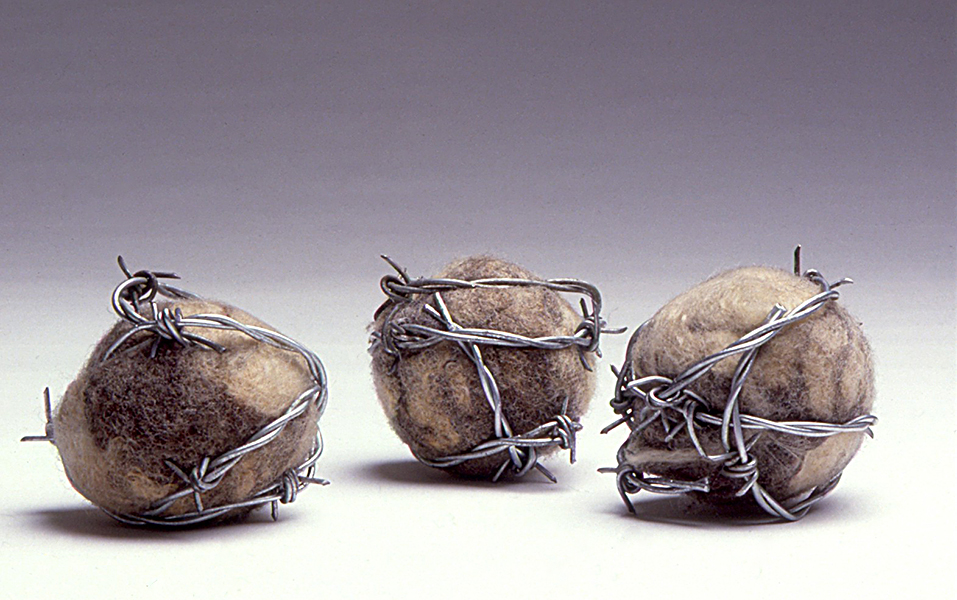 Felt balls with barbed wire cc.jpg
