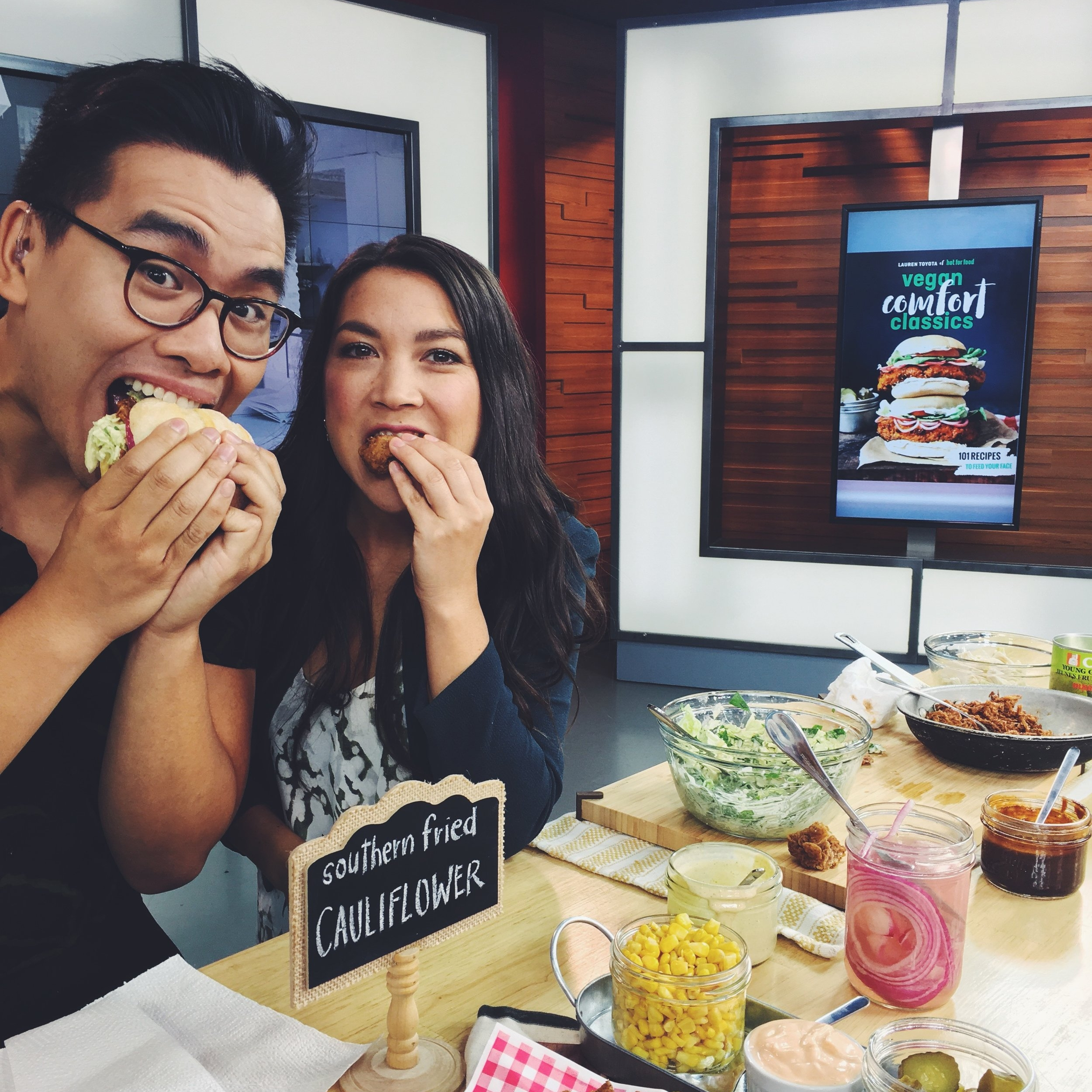 Vegan Comfort Classics cover reveal | The Morning Show (Global Television)