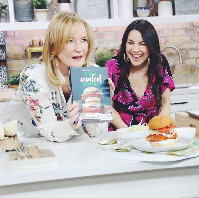 Vegan Comfort Classics cookbook launch | The Marilyn Denis Show