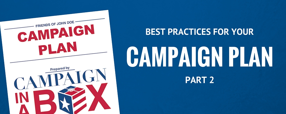 Create a campaign plan in just two steps