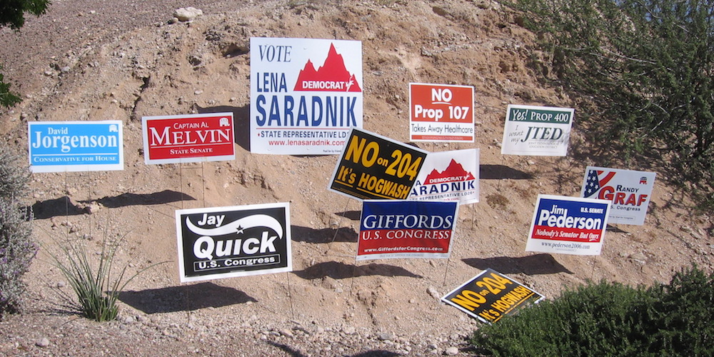 Why yard signs cannot be the focus of your campaign