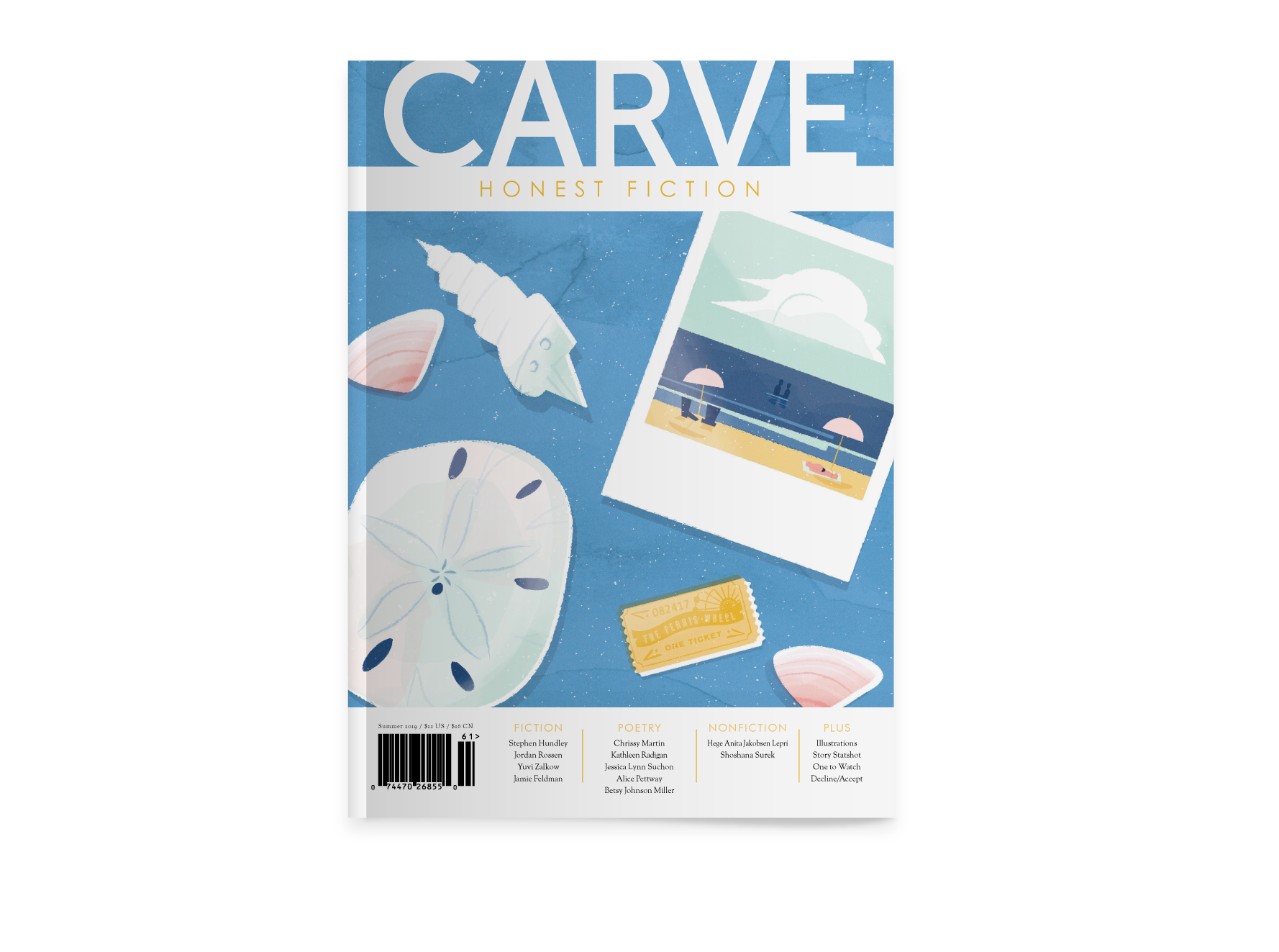 Submit Fiction, Poetry, Nonfiction — Carve Magazine | HONEST