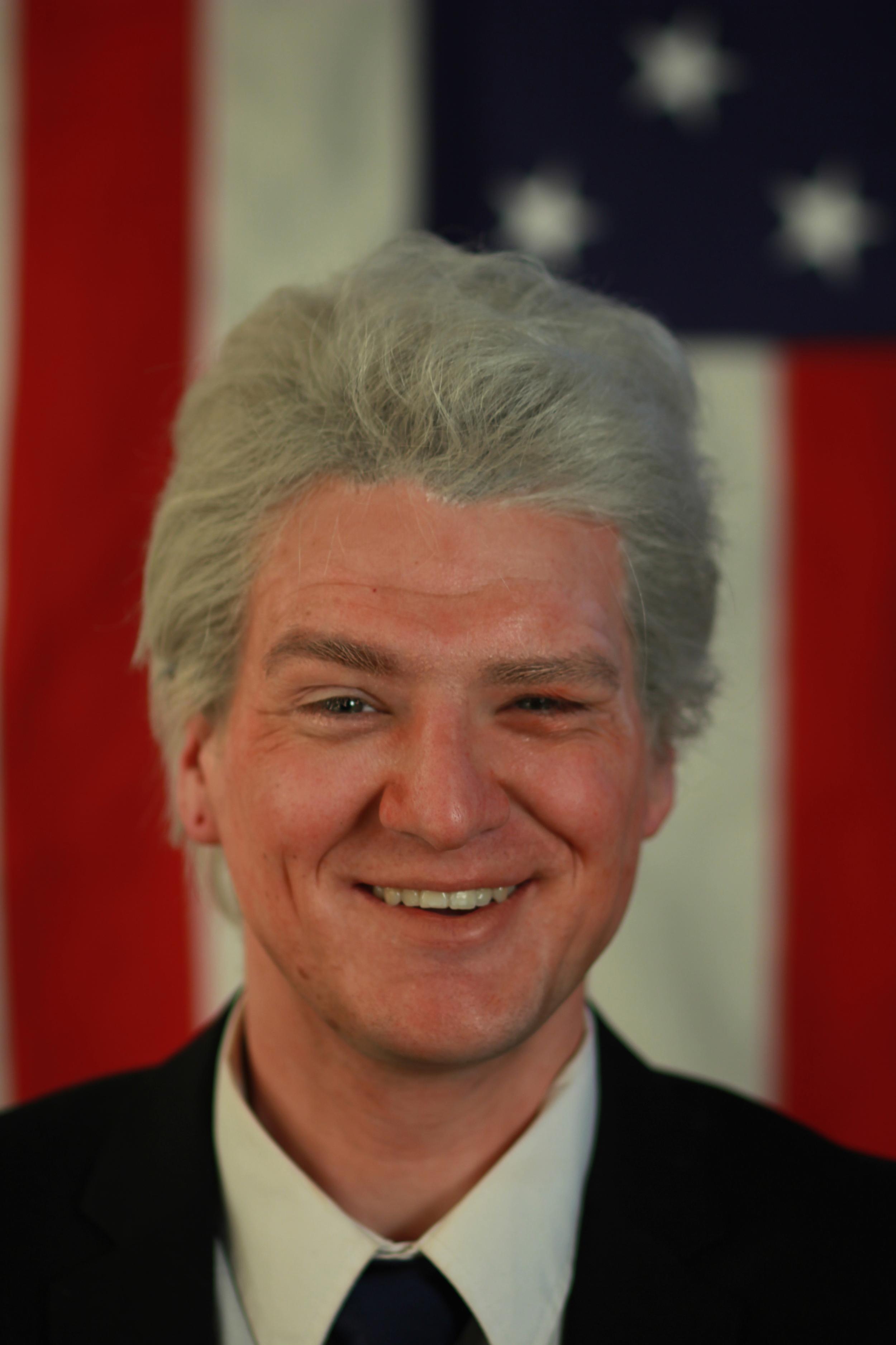 TV Personality Male Replication - Bill Clinton