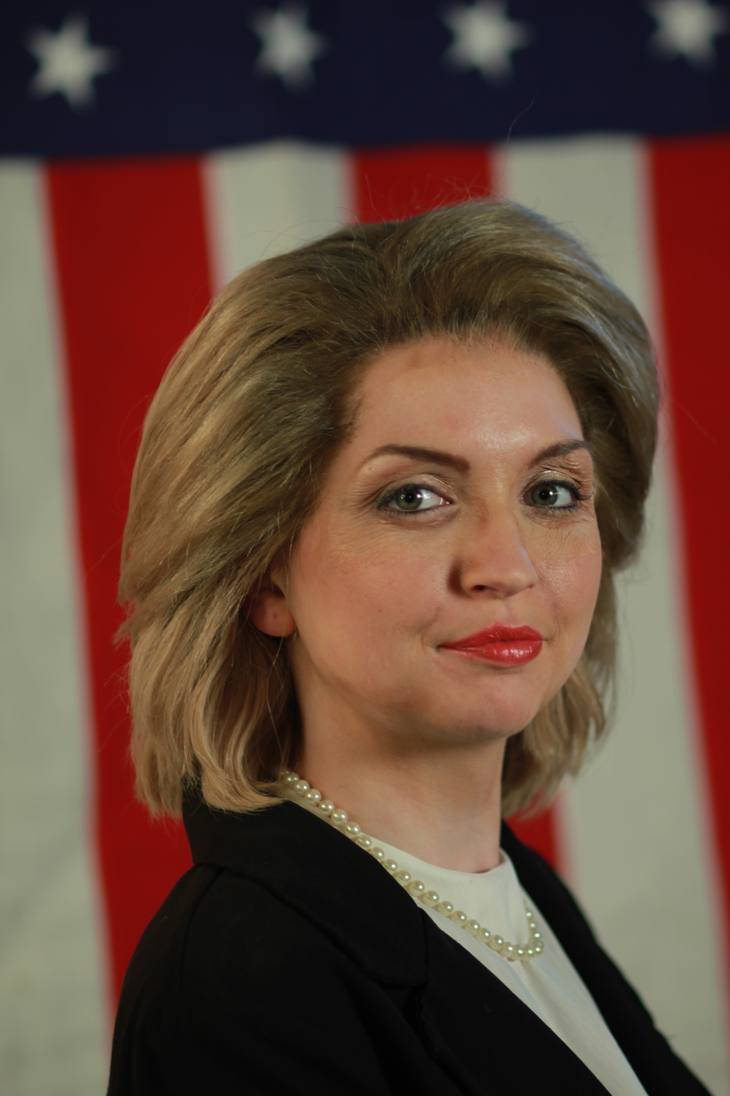 TV Personality Female Replication - Hillary Clinton