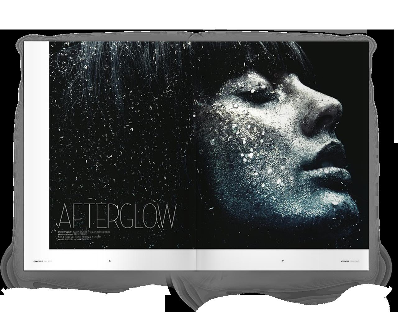 Design: LizGardner for Creem Magazine   Photo:  JuliaKiecksee