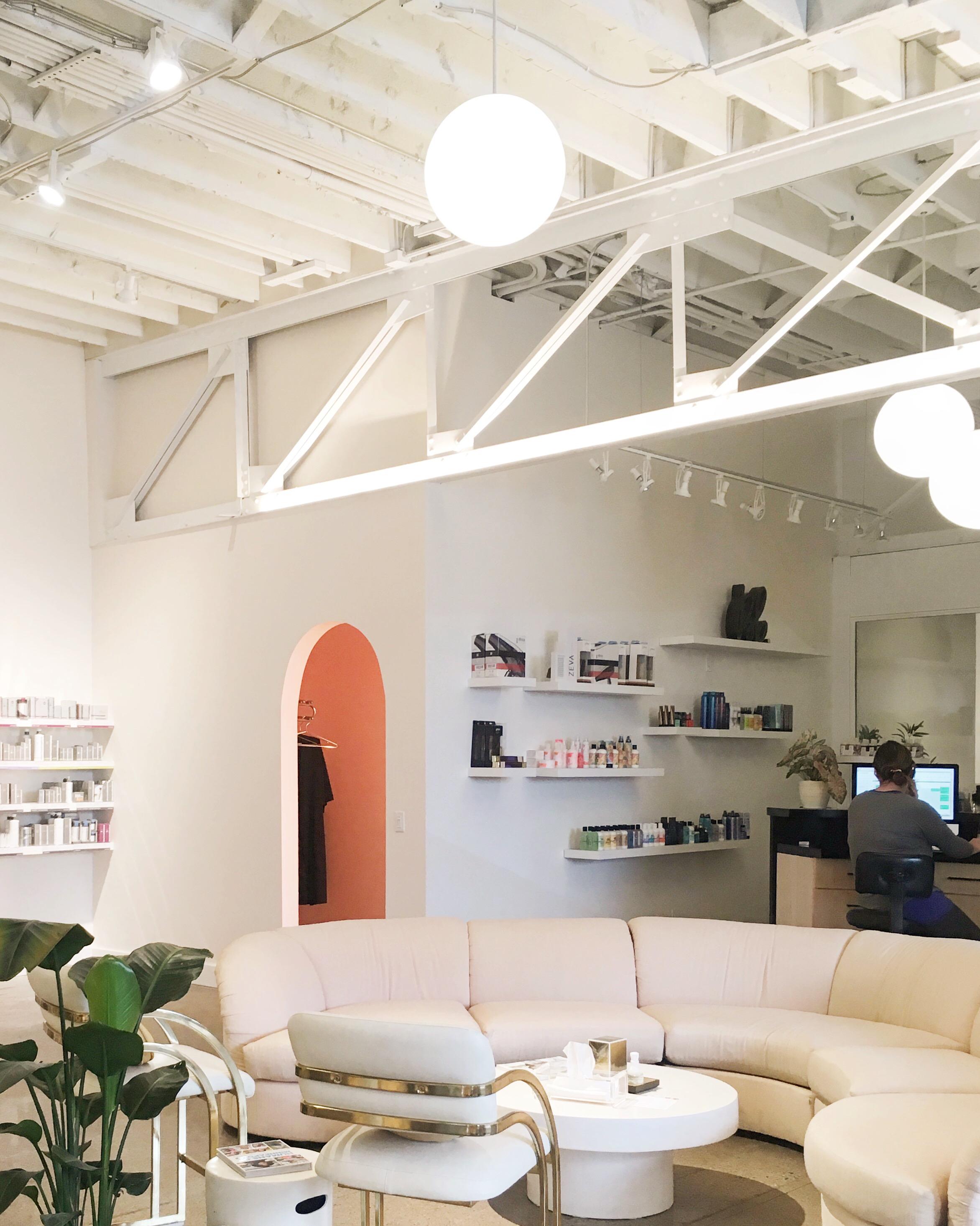 Gem Salon + Spa Interior