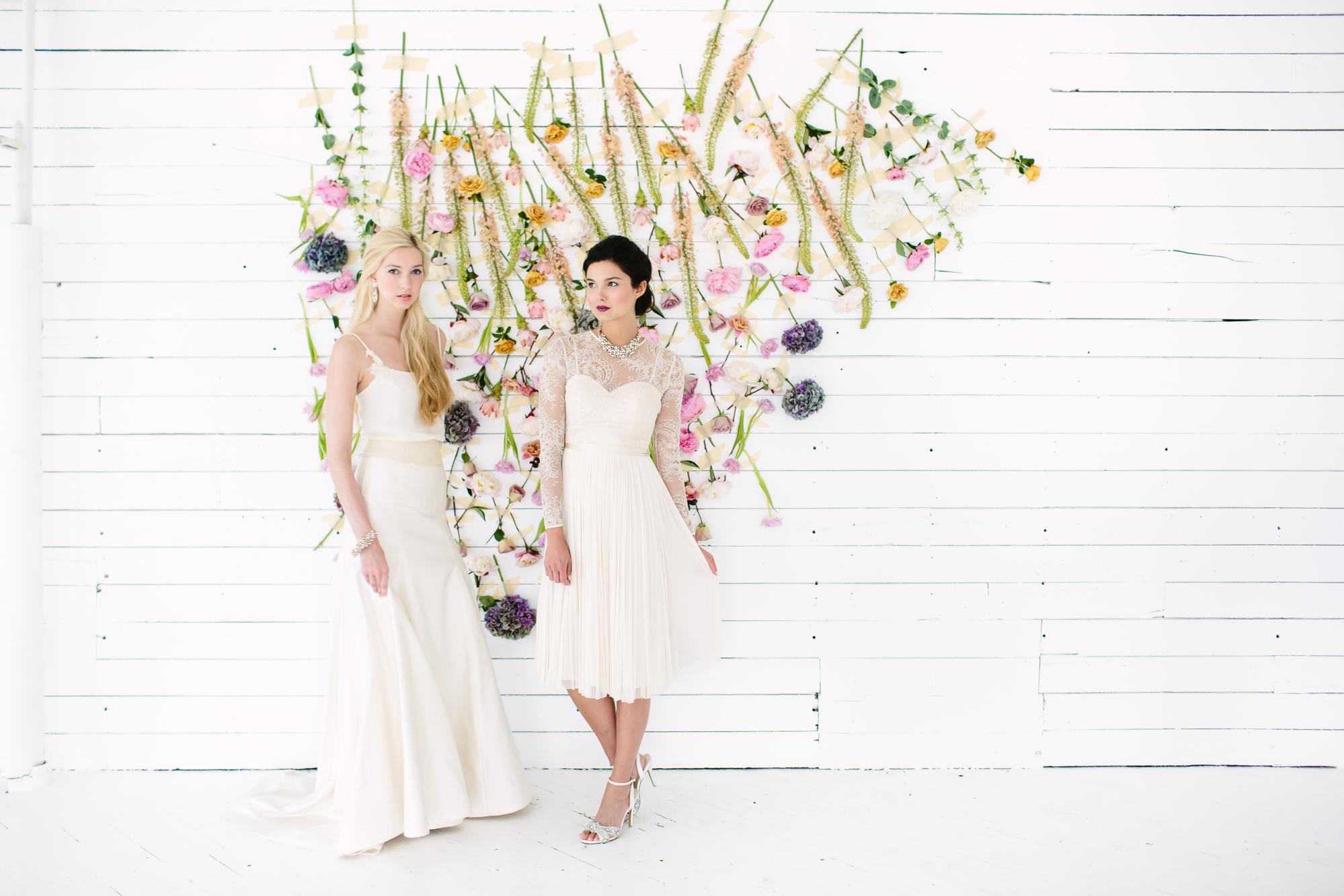 Creative Direction: Liz Gardner for  Mpls. St. Paul Magazine Wedding  Fashion Editor: Emily Sefton Stylist: Liz Doyle HMUA: Romeny Chan Floral: Munster Rose