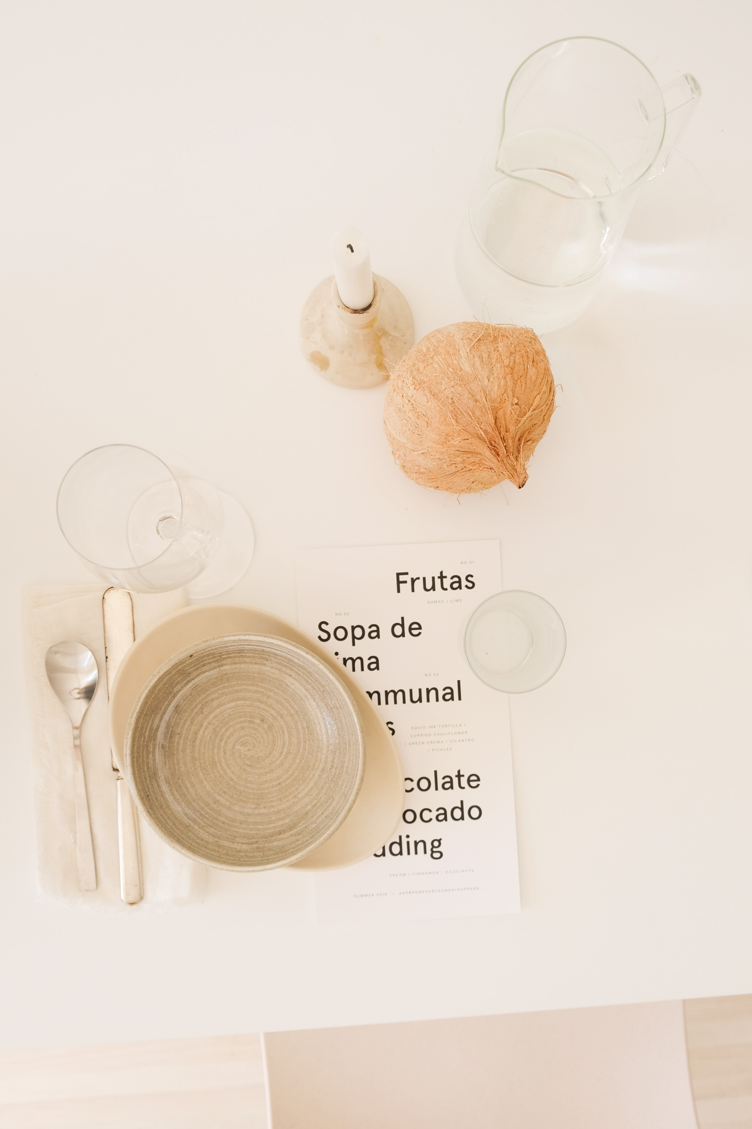 Creative Direction + Styling: Liz Gardner for Sunday Suppers