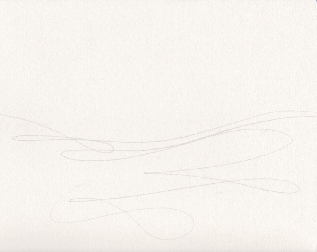 """Linescape: Series 1, Drawing 10"" – 11x15in"