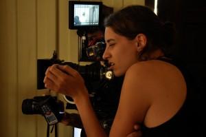 Filming on Aanton super 16mm