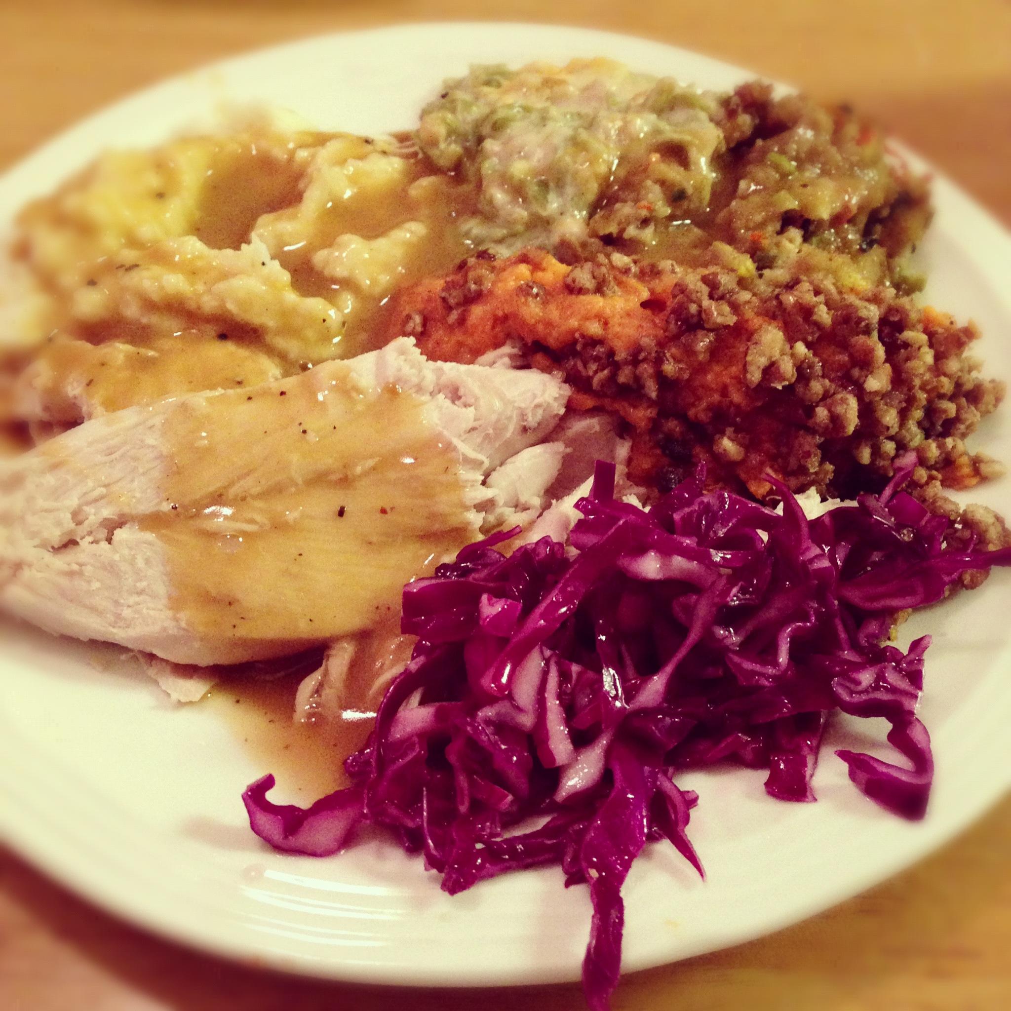 Mom's Thanksgiving Dinner