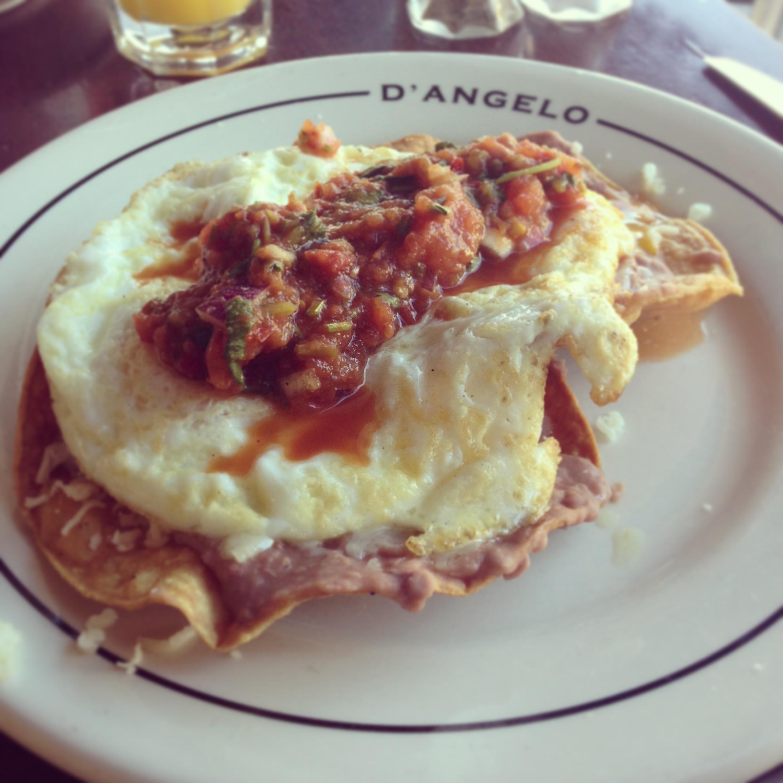 D'Angelo's Huevos Rancheros