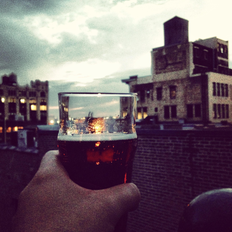 Rooftop Beer (Brooklyn Brewery) - Gallow Green