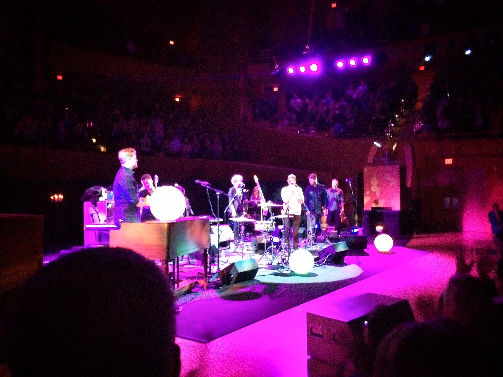 Rhye at the Walt Disney Concert Hall 2014